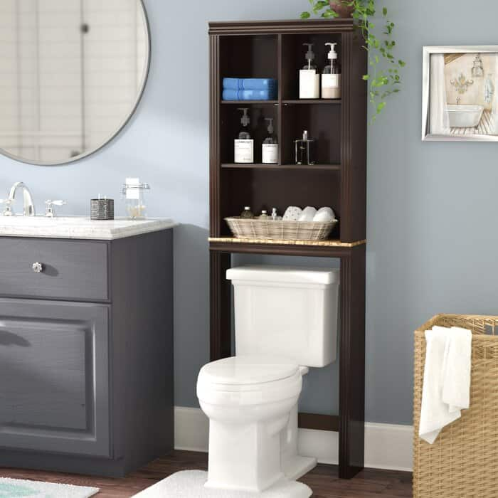Get a Pre-Built Over-the-Toilet Cabinet