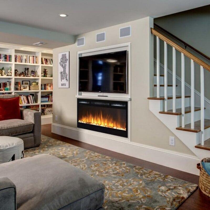 Build a Basement Fireplace
