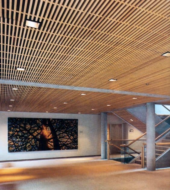 Try a Beautiful Wooden Ceiling