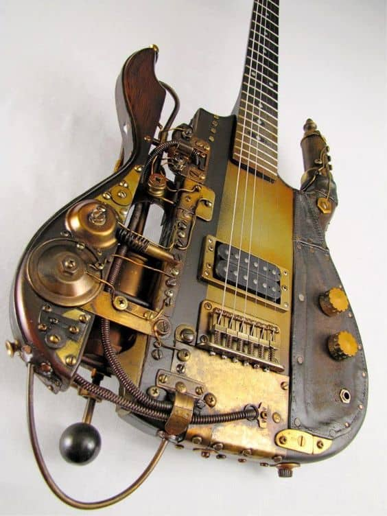 Steampunk Musical Instruments
