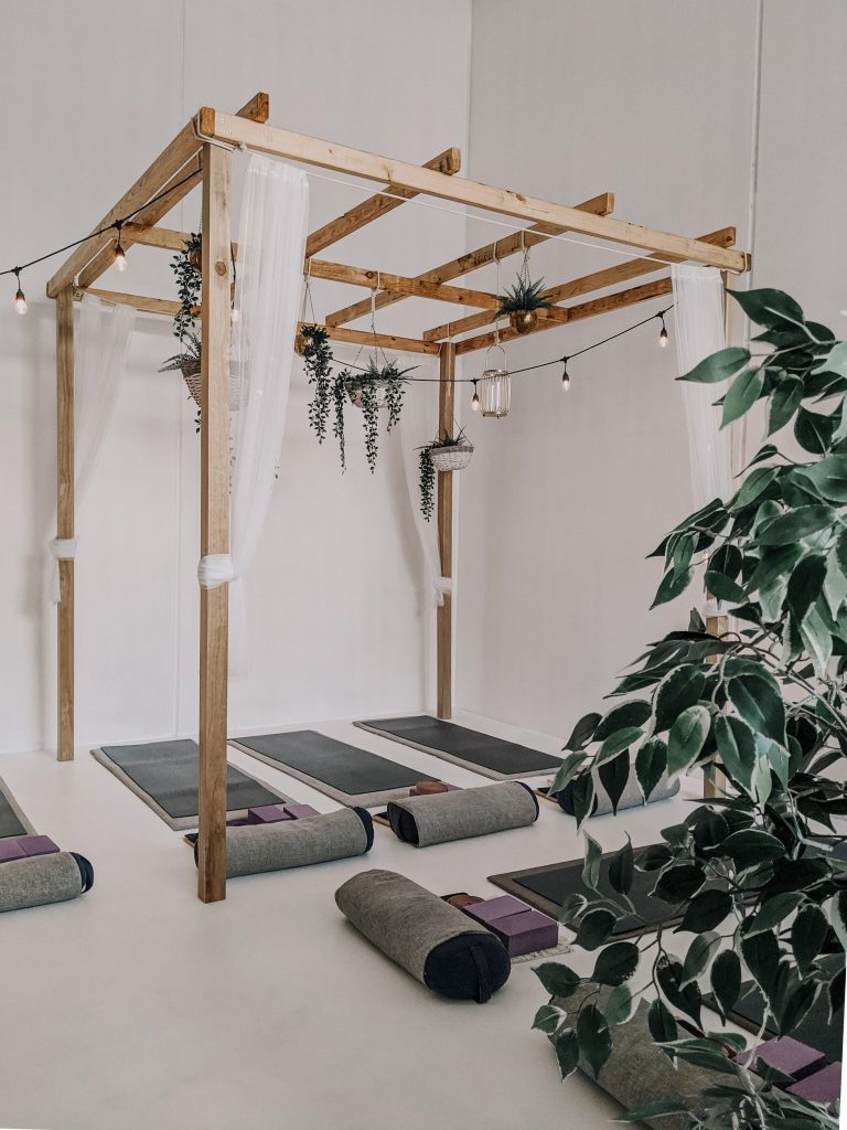 Create a Basement Gym or Yoga and Meditation Room