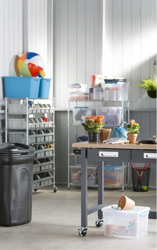 Turn the Unfinished Basement Into a Sewing Room