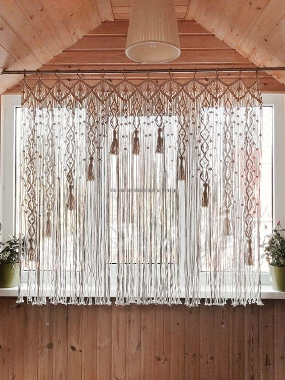 Try Fringe Curtains