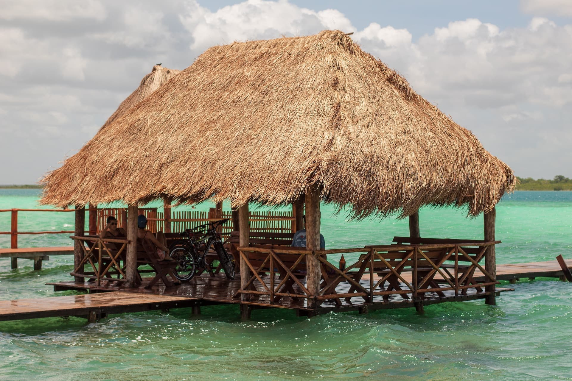 A Palapa Creates a Coastal Vibe