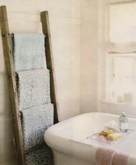 Create a Bathroom Towel Rack