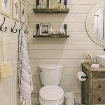 25 Clever and Fashionable Bathroom Shelf Ideas
