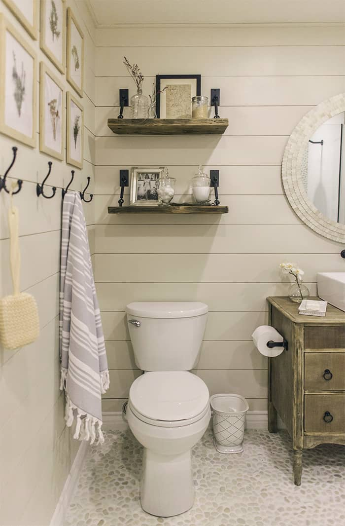 25 Bathroom Shelf Ideas to Keep Your Space Organized