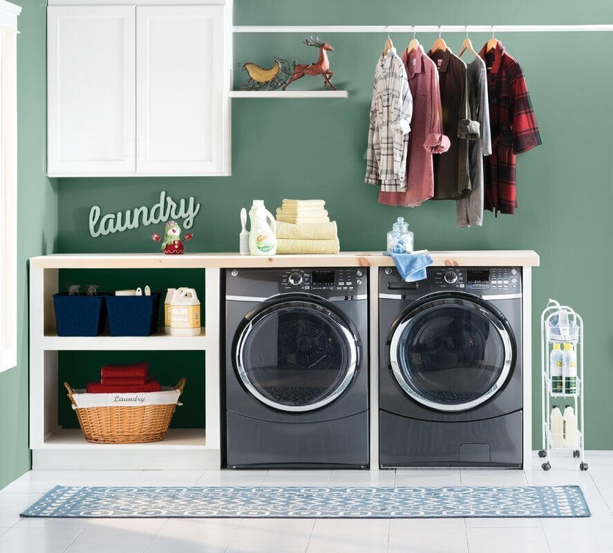 Create a Basement Laundry