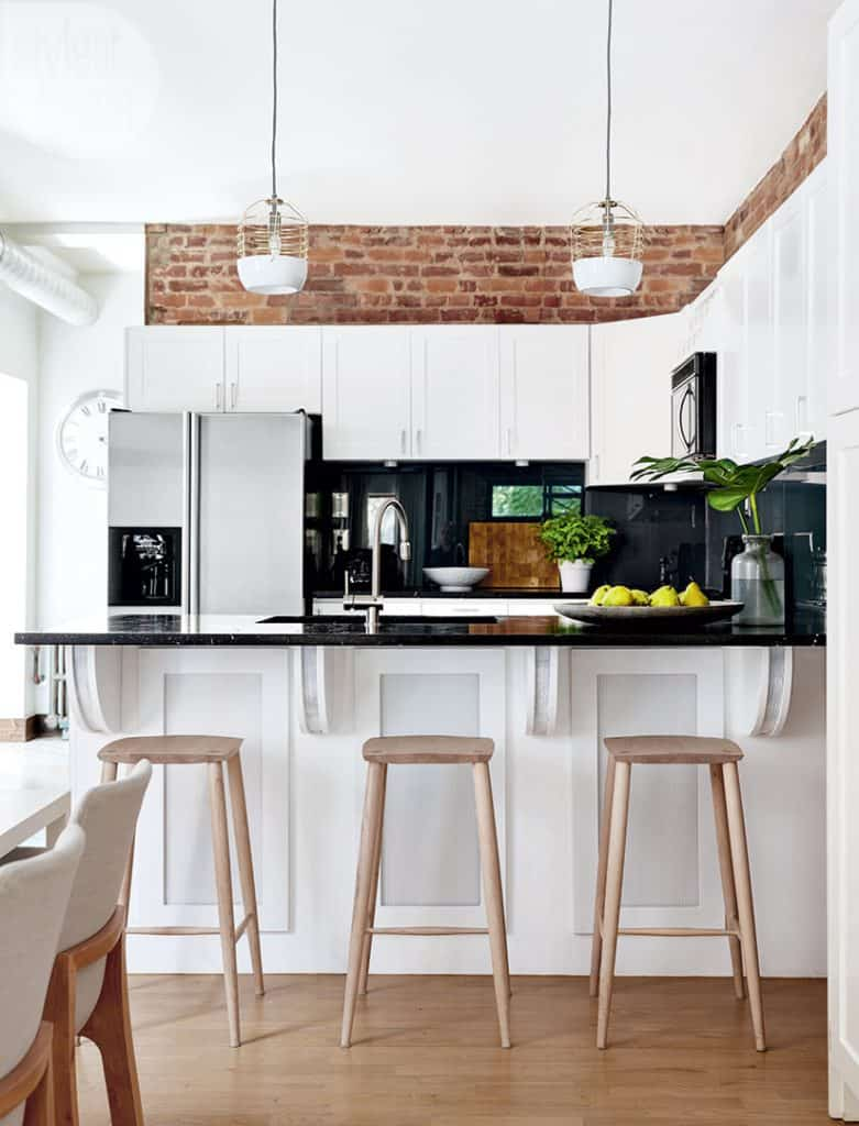 Go for Exposed Bricks to Add Texture