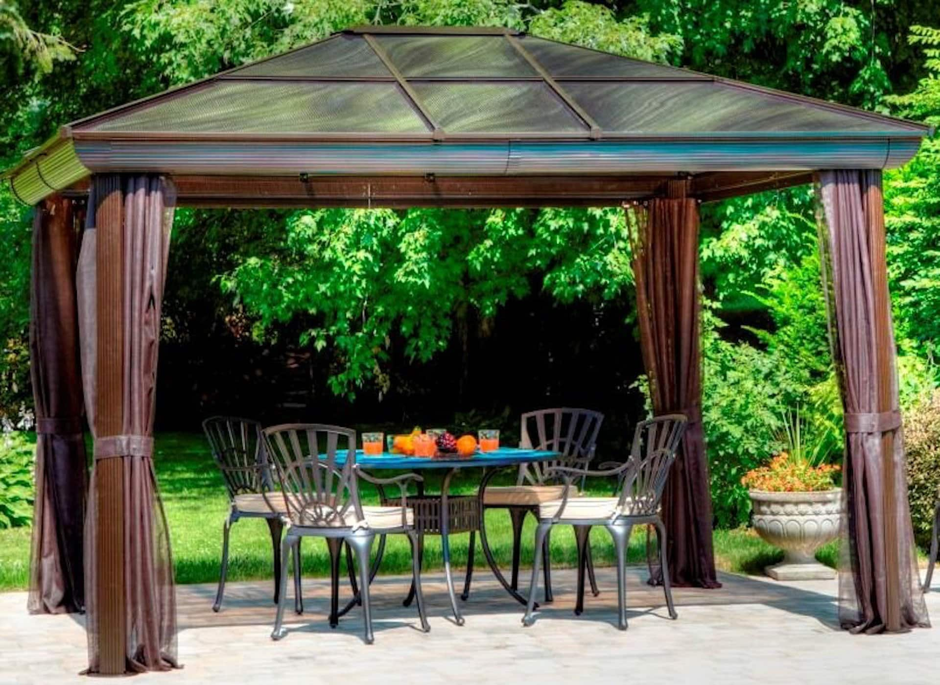 Look for a Sturdy Standalone Patio Structure