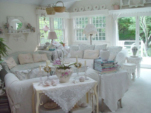 30 Tempting Shabby Chic Living Room Decor Ideas