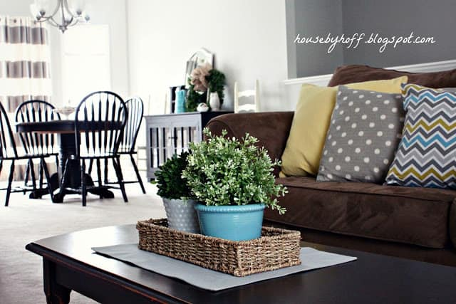 Add a Splash of Yellow to Brighten Up the Room
