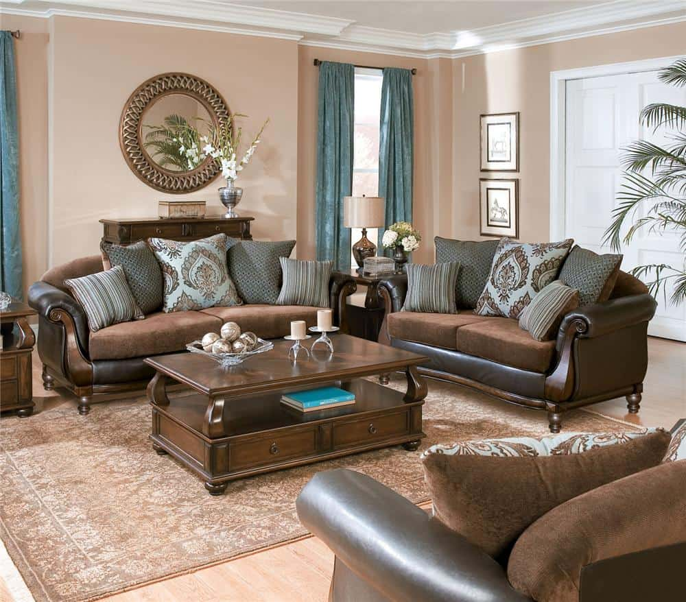 Place Pillows Symmetrically for a Modern Appeal