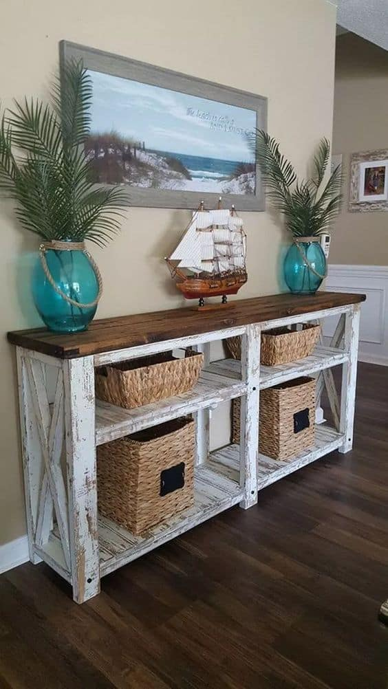 Get a Coastal Console Table