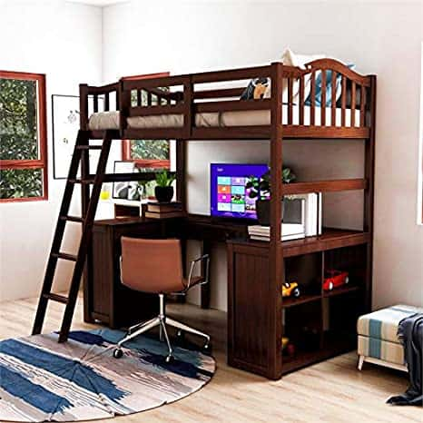 Buy a Loft Bed to Install Over a Desk