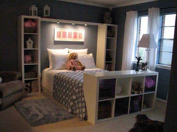 22 Clever Small Bedroom Organization Ideas