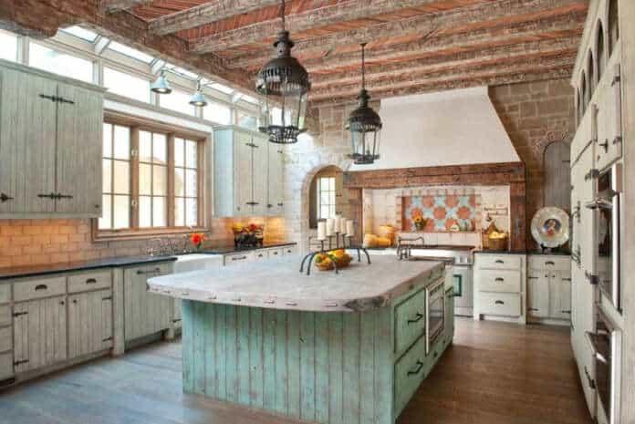 A Rustic Barnwood Kitchen