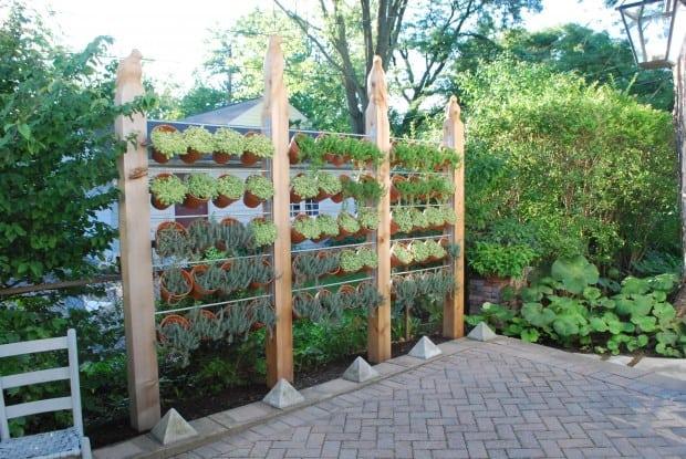 Build a Natural Garden Wall