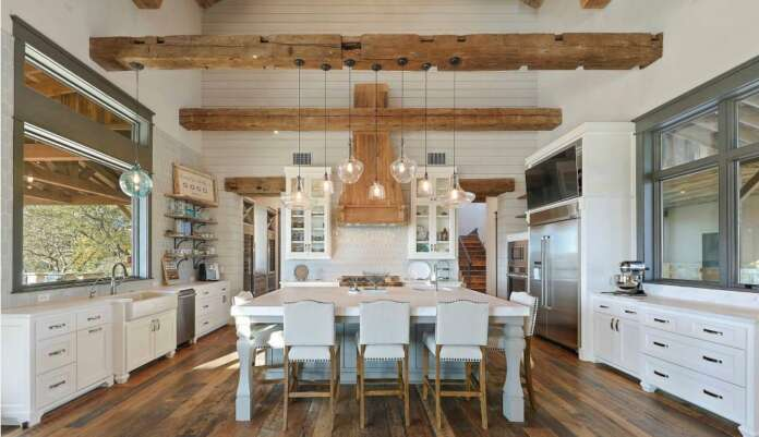 Lower the Beams in the Kitchen