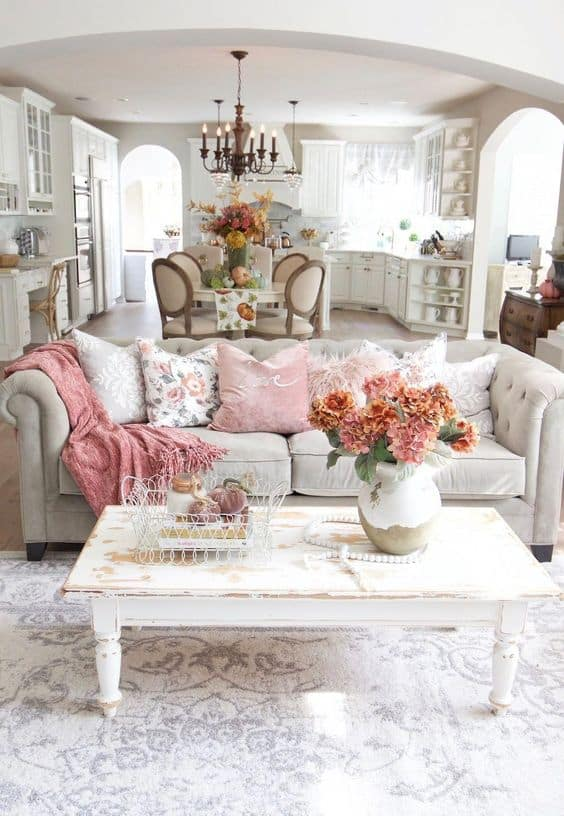 30 French Country Living Room Ideas, Country Living Room Furniture