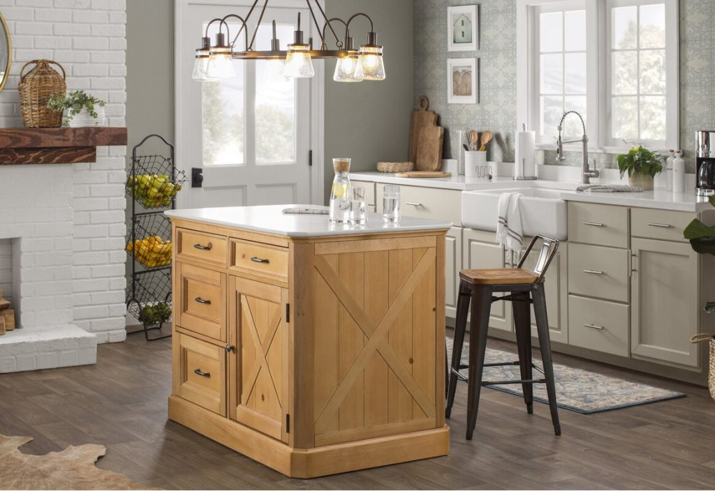 Kitchen Island Accent