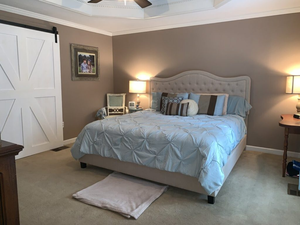 Oversized Master Bedroom Door