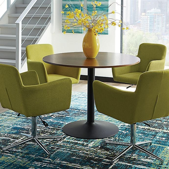 Go Mid-Century Modern With a Splash of Yellow