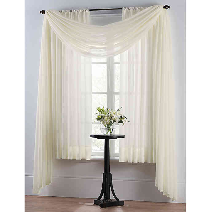 Look for a Draped Curtain Panel
