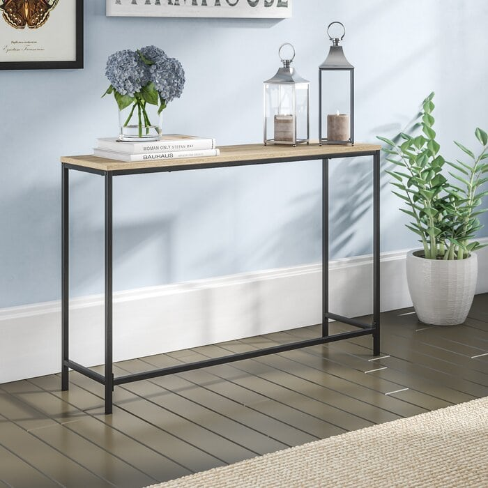 Look for Entryway Tables With Mixed Materials