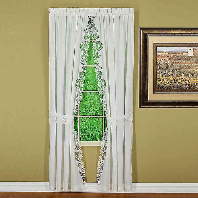 Combine a Floor-Length Curtain With Smaller Windows