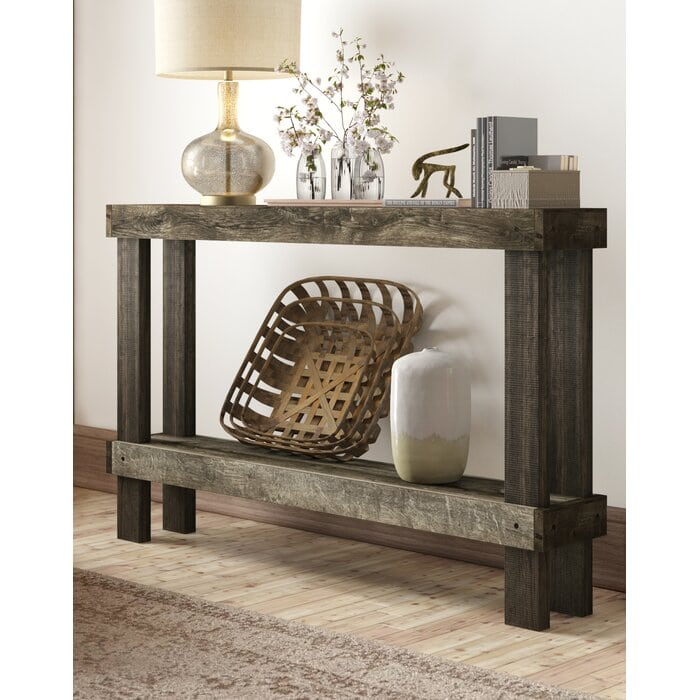Get a Natural, Rough-Hewn Table for Rustic Chic