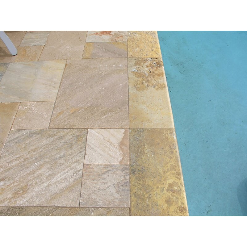 Travertine Tiles for Outdoor Use