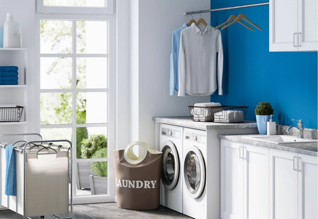 Get a Large Laundry Room Sink With Cabinets