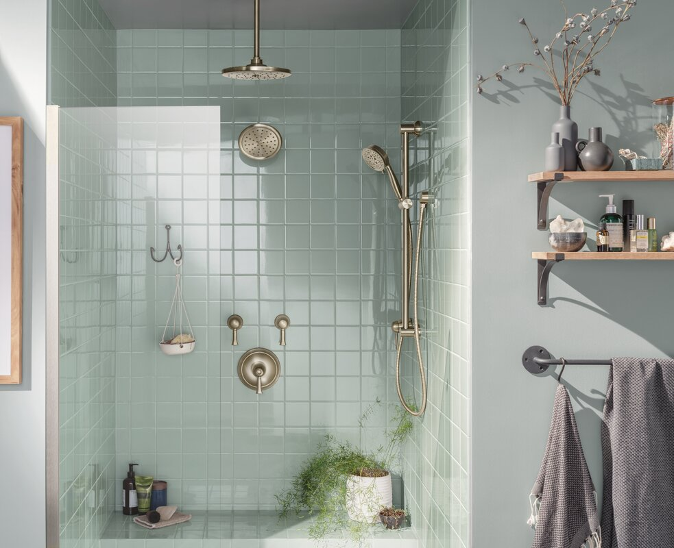 Add a Slide Bar to a Dual Shower System