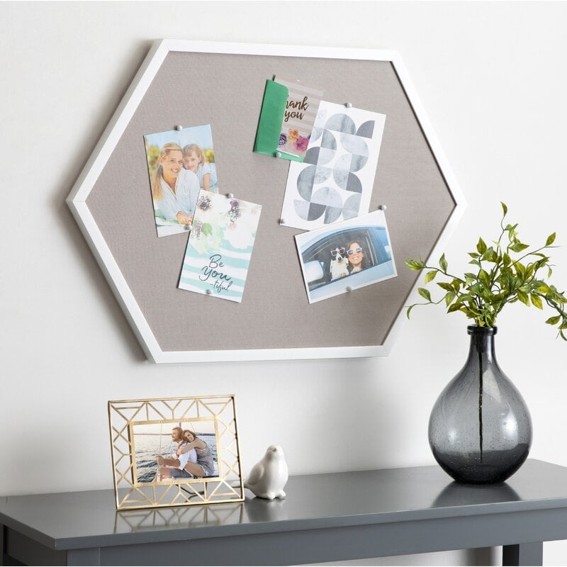 Hang a Corkboard for Mementos and Pictures