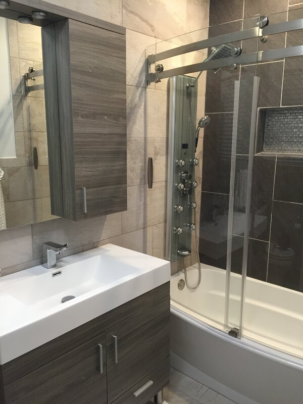 Install a Shower Panel With Dual Heads