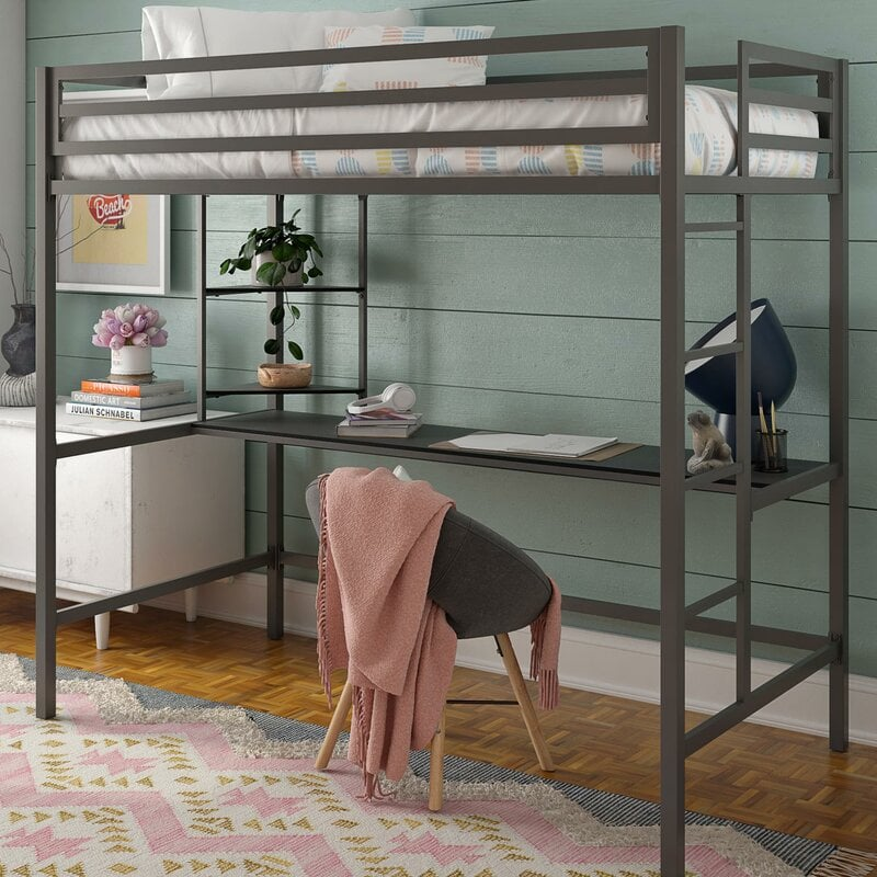 Loft With A Desk