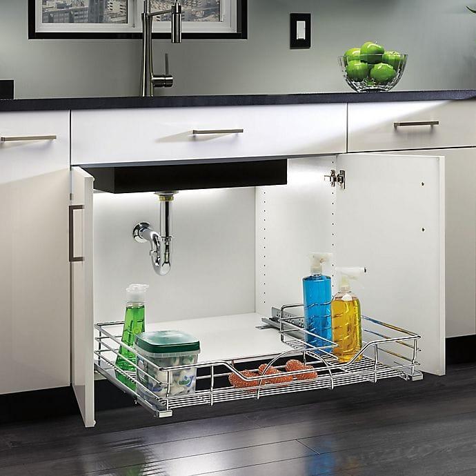 Boost Storage With an Under-Sink Organizer