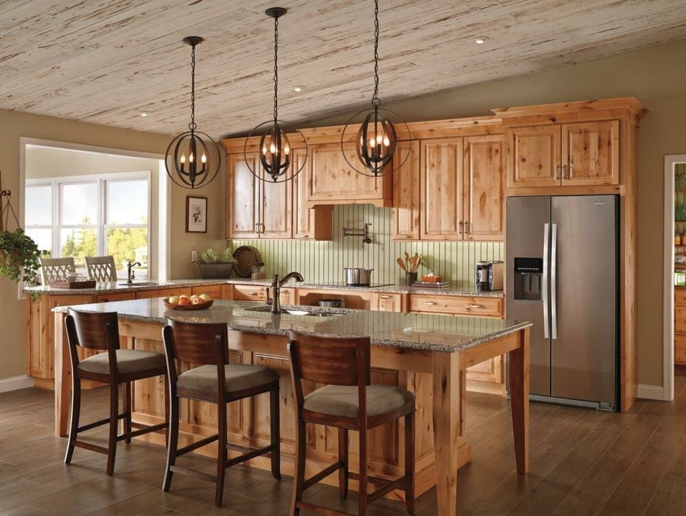 <strong>Install Solid, Italian-Style Wooden Cabinetry</strong>