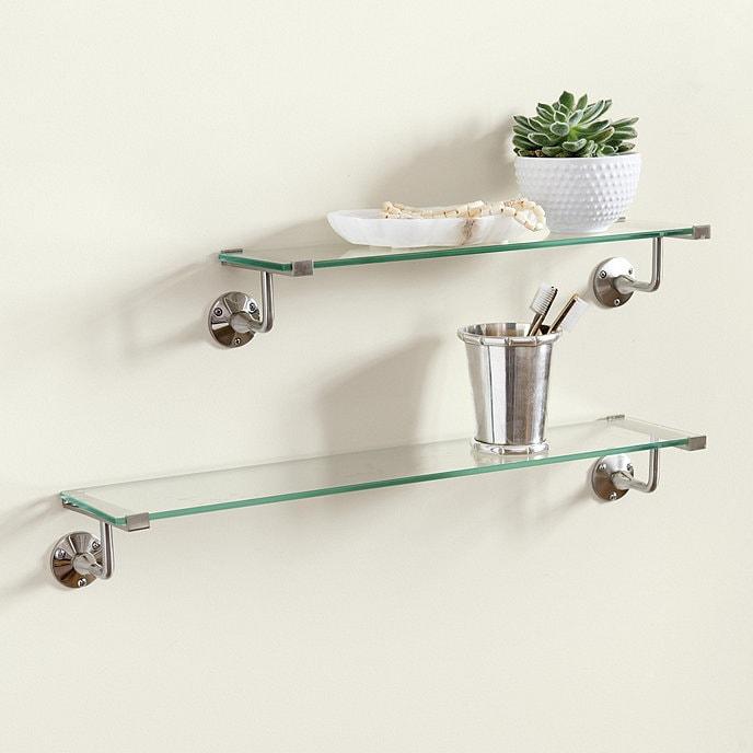 Get Glass for Floating Bathroom Shelves
