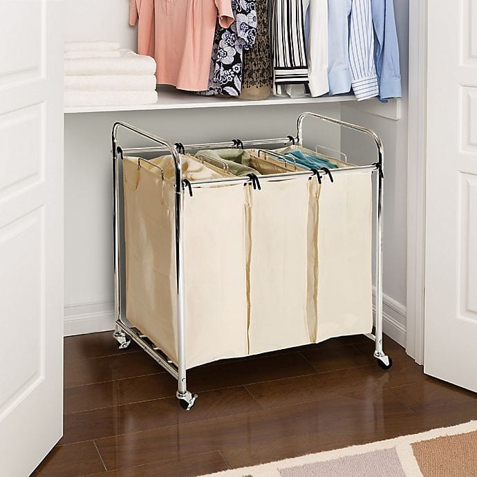 Hide Your Hampers Away in Closets