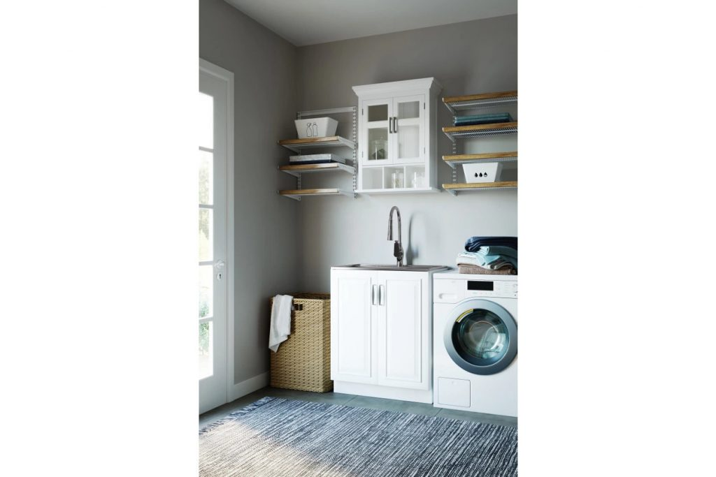 Install a Custom Size Sink and Cabinet