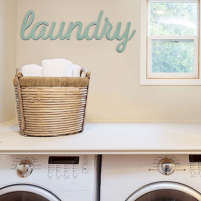 16 Basement Laundry Room Ideas (Decorate & Organize)