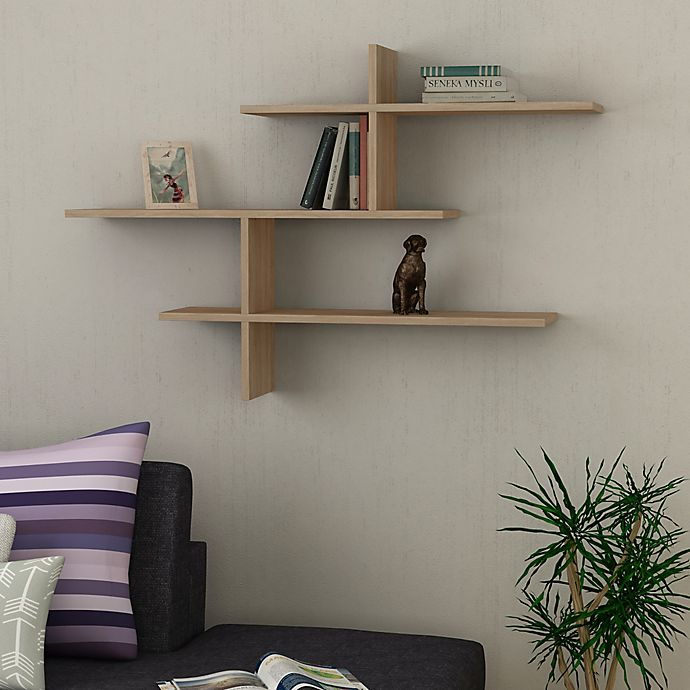 Get a Floating Shelf System for the Living Room