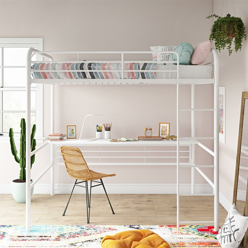 Free Up Space With A Loft Bed