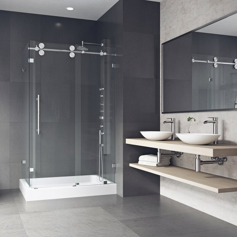 Look for a Full Dual Shower Head Panel