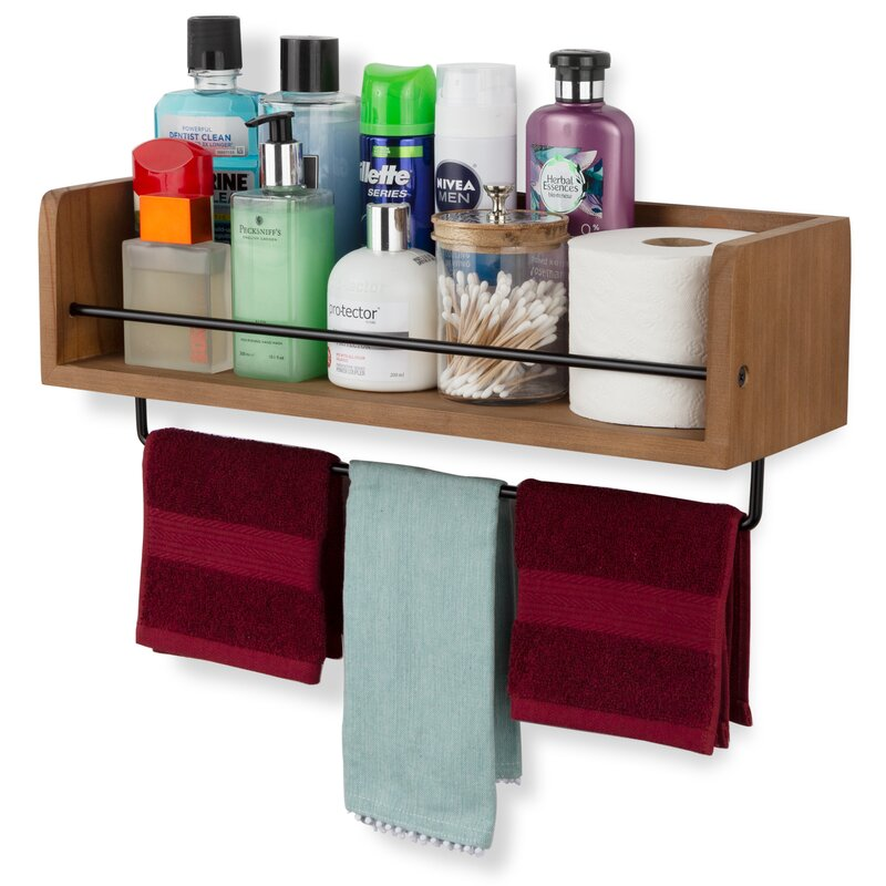 Create an Organized Towel Bar
