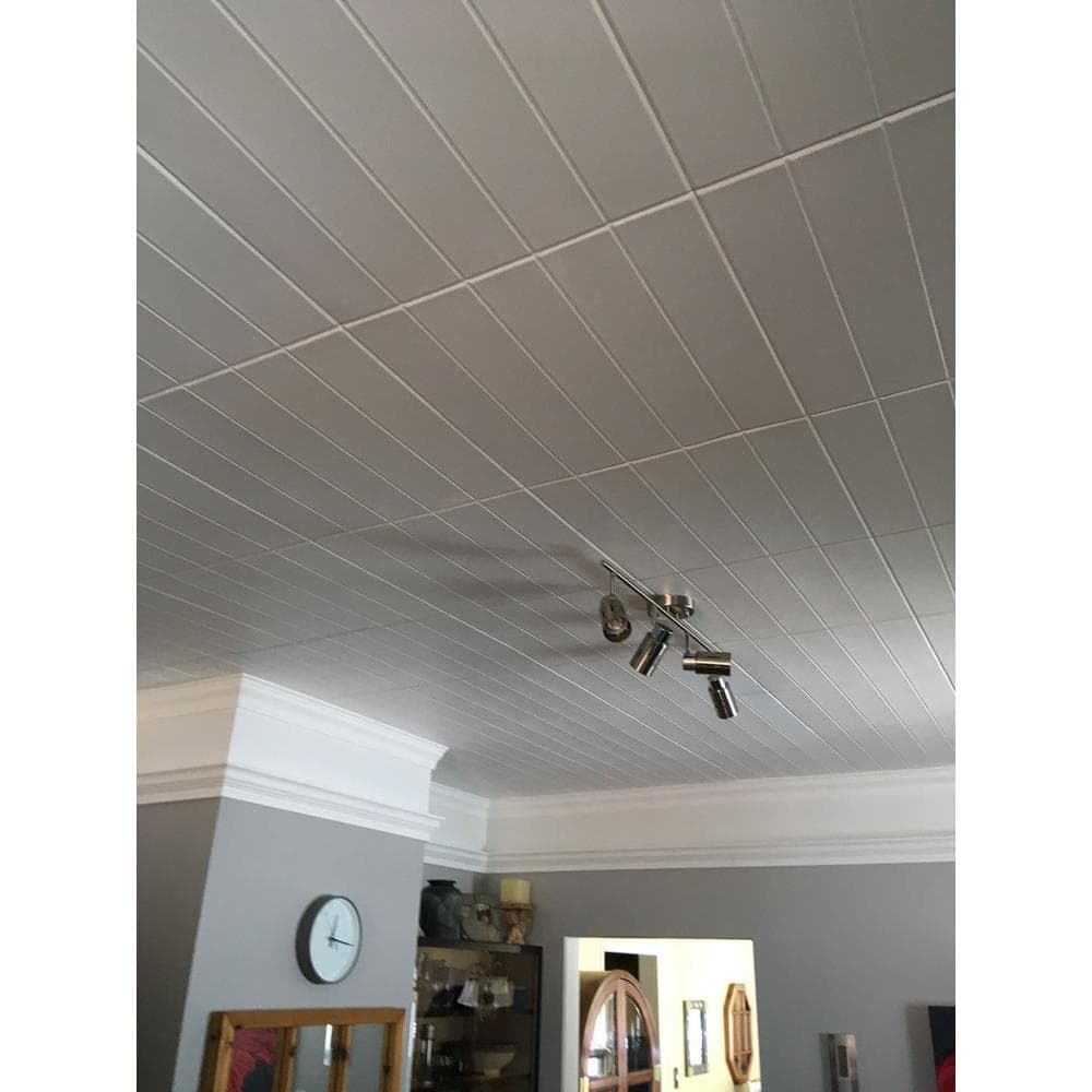 Get a Stylish Beadboard Ceiling