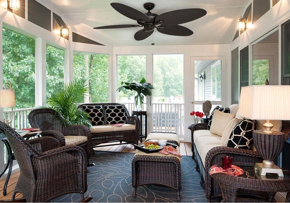 Use Wicker Furniture
