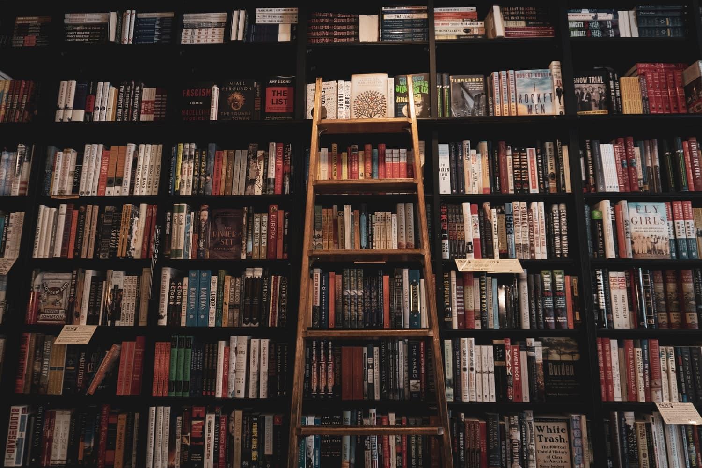 Lean it Against a Bookcase